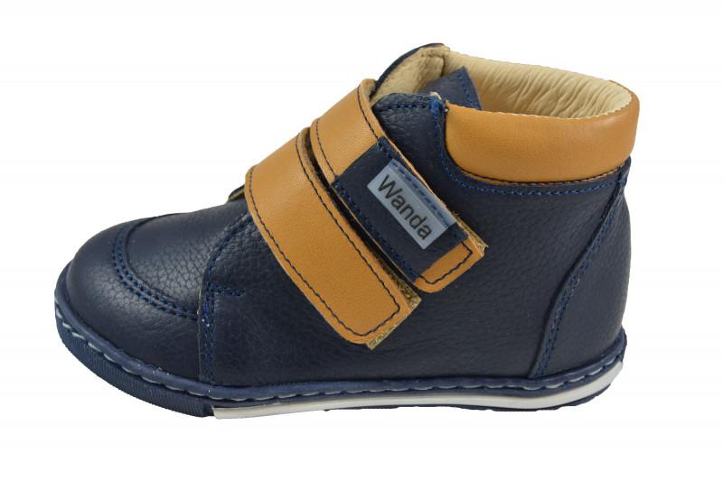 ff19869b01a4 Detská celoročná obuv vzor  631-974097. Detská celoročná kožená obuv.  Výrobca  Wanda Slovakia ...