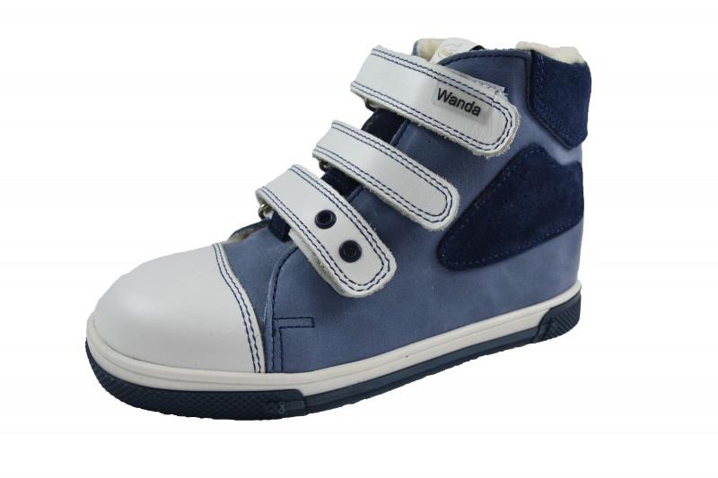 26a621c33949 Wanda Slovakia kožené topánky na zimu.